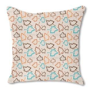 Naturo Pale Pink Burlap Pillow Single Sided