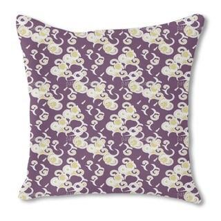 Art Africa Burlap Pillow Single Sided