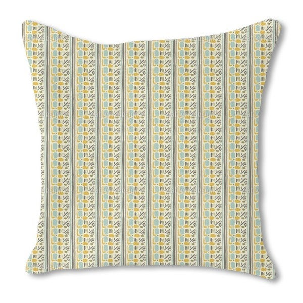 Inca Inspiration Burlap Pillow Single Sided