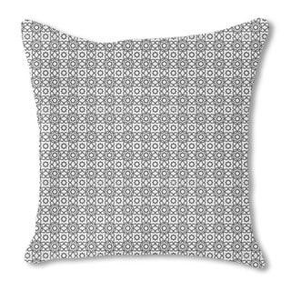 Islamic Tile Burlap Pillow Double Sided