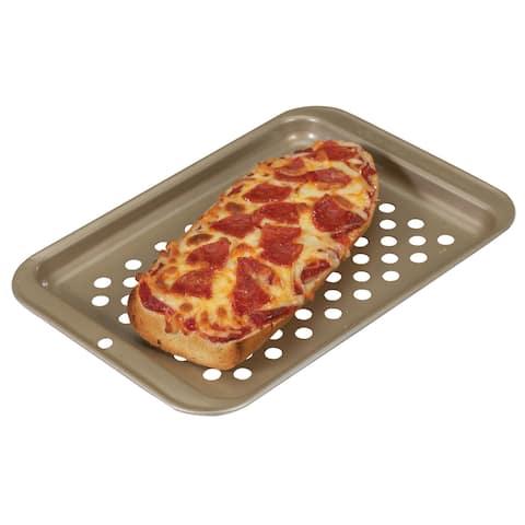 Nordic Ware 47010 Compact Pizza & Crisping Baking Sheet - Silver