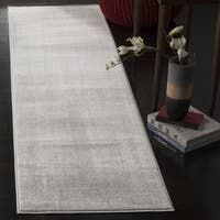 Safavieh Carnegie Vintage Light Grey/ Cream Distressed Runner (2' 3 x 8')