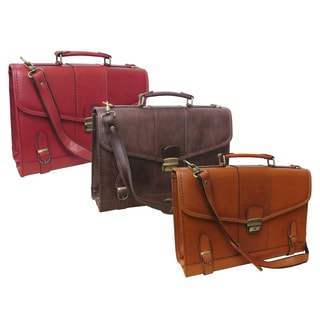 Amerileather Kevlay Leatherette Women's Briefcase