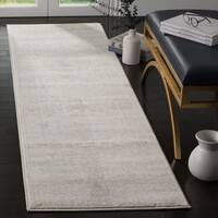 Safavieh Carnegie Vintage Cream/ Light Grey Distressed Runner Rug - 2' 3 x 8'