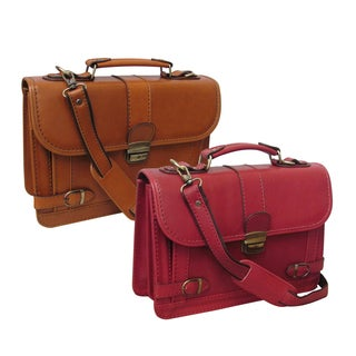 Amerileather Conlay Leatherette Petite Briefcase