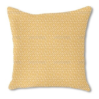 Desert Flower Burlap Pillow Double Sided
