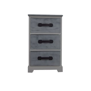 Grey Matt Finished End Table by Urban Port