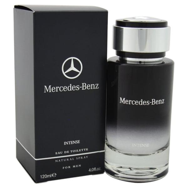 Mercedes benz intense men 39 s 4 ounce eau de toilette spray for Mercedes benz cologne review