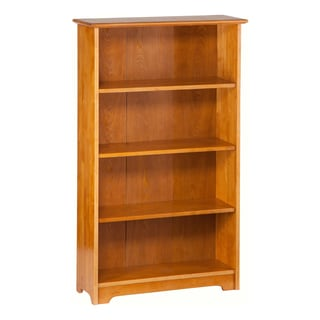 Atlantic Caramel Latte Wood 55-inch Book Shelf