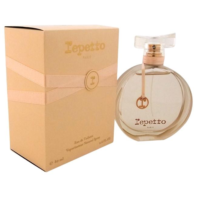 Repetto Women's 2.6-ounce Eau de Toilette Spray, White va...