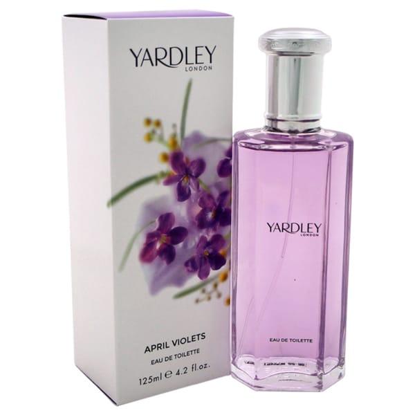62d843946ec1 Yardley London April Violets Women's 4.2-ounce Eau de Toilette Spray