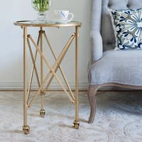 Tennyson D17 X 26.5-inch Side Table