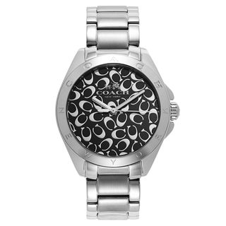 Coach Women's Silvertone Fashion Watch