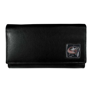 NHL Columbus Blue Jackets Leather Women's Wallet