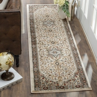 Safavieh Lyndhurst Traditional Oriental Cream/ Beige Runner Rug (2' x 12')