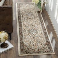 Safavieh Lyndhurst Traditional Oriental Cream/ Beige Runner Rug - 2' x 12'