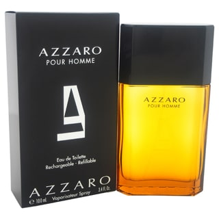 Loris Azzaro Men's 3.4-ounce Eau de Toilette Spray (Refillable)