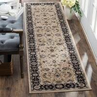 Safavieh Lyndhurst Traditional Oriental Light Beige/ Anthracite Runner Rug - 2' x 12'
