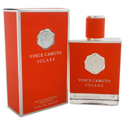 Vince Camuto Solare Men's 3.4-ounce Eau de Toilette Spray - Clear