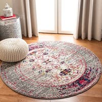 Safavieh Monaco Vintage Distressed Grey / Multi Distressed Runner Rug (2' x 6')