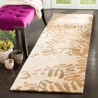 Martha Stewart by Safavieh Palm Grove Spud Wool Runner Rug - 2' 3 x 8'