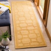 "Martha Stewart by Safavieh Resort Weave Dried Chamomile Wool Runner Rug - 2'3"" x 8'"