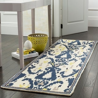 Safavieh Handmade Martha Stewart Collection Clove Wool Runner Rug (2' 3 x 8')