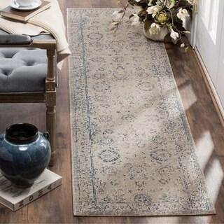 Safavieh Patina Vintage Grey/ Blue Runner Rug (2'2 x 8')
