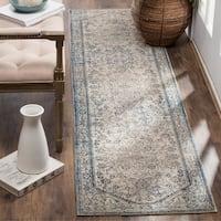 Safavieh Patina Vintage Light Grey/ Blue Runner Rug (2'2 x 12')