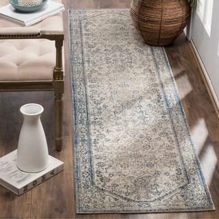 Safavieh Patina Vintage Light Grey/ Blue Runner Rug (2'2 x 8')