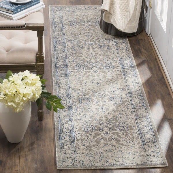 Safavieh Patina Vintage Taupe/ Taupe Runner Rug (2'2 x 12')