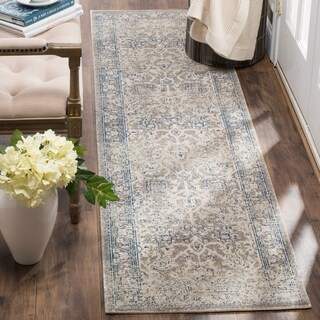 Safavieh Patina Vintage Taupe/ Taupe Runner Rug (2'2 x 8')