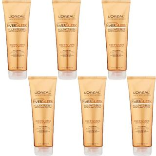 L'Oreal EverSleek Sulfate-free Smoothing System 5.1-ounce Finishing Creme (Pack of 6)