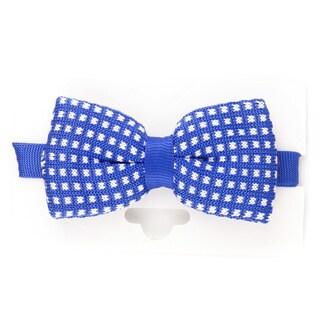 Elie Balleh Milano Italy 2015 Styles EBBT3 Blue Polka Dot Microfiber Bow Tie