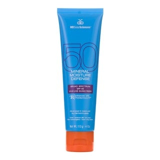 MDSolarSciences 4-ounce Mineral Moisture Defense Body SPF 50 UVA-UVB Sunscreen