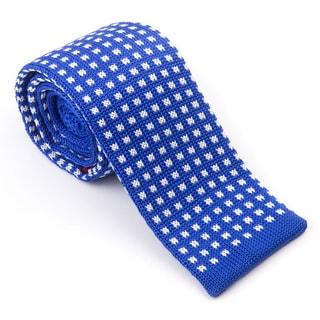 Elie Balleh Milano Italy 2015 Styles EBNT3 Blue Microfiber Neck Tie
