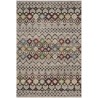 Safavieh Amsterdam Bohemian Light Grey / Multicolored Rug (3' x 5')