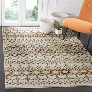 Safavieh Amsterdam Bohemian Ivory / Multicolored Rug (3' x 5')|https://ak1.ostkcdn.com/images/products/12668735/P19455494.jpg?impolicy=medium