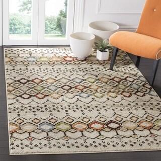 Safavieh Amsterdam Bohemian Ivory / Multicolored Rug (3' x 5')