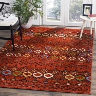 Safavieh Amsterdam Bohemian Terracotta / Multicolored Rug (3' x 5')