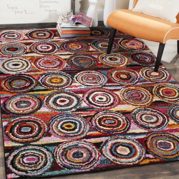 Safavieh Aruba Abstract Multi-colored Rug (3' x 5')