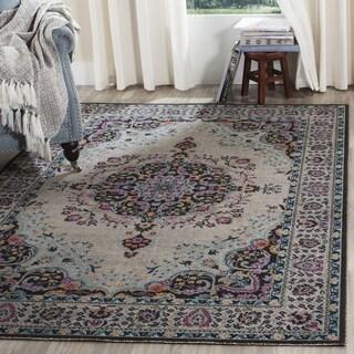 Safavieh Artisan Bohemian Light Grey / Multicolored Rug (3' x 5')
