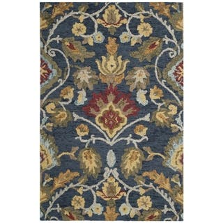 Safavieh Handmade Blossom Navy / Multicolored Wool Rug (3' x 5')|https://ak1.ostkcdn.com/images/products/12668953/P19455669.jpg?impolicy=medium