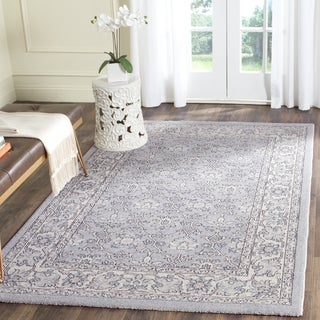 Safavieh Carmel Vintage Light Blue / Ivory Rug (3' x 5')