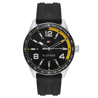 Tommy Hilfiger Men's Black Stainless Steel Watch