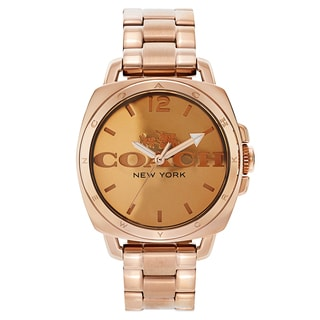 Coach Women's Goldtone Fashion Watch