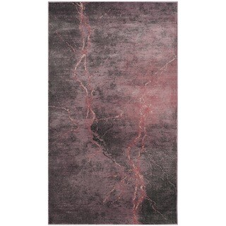 Safavieh Constellation Vintage Contemporary Blush / Multicolored Viscose Rug (3' 3 x 5' 7)