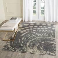 Safavieh Constellation Vintage Modern Light Grey / Multicolored Viscose Rug - 3' 3 x 5' 7