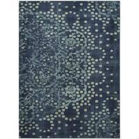 Safavieh Constellation Vintage Blue / Multicolored Viscose Rug - 3' 3 x 5' 7