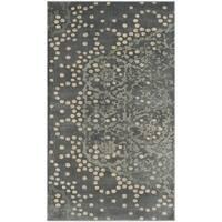 Safavieh Constellation Vintage Grey / Multicolored Viscose Rug - 3' 3 x 5' 7